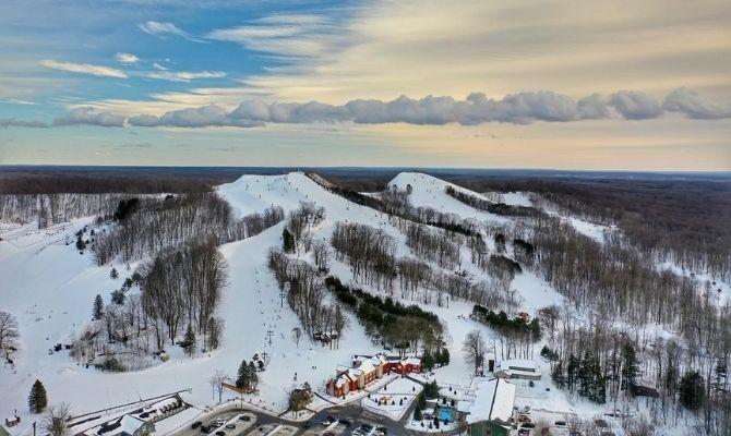 Ski Resorts in Michigan Caberfae Peaks