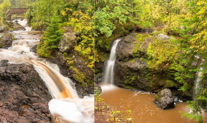Snake Pit Falls and Now and Then Falls