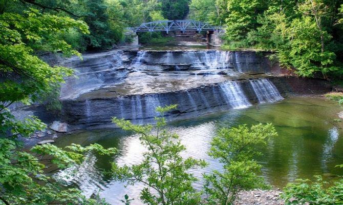 Waterfalls in Ohio Paine Falls, Paine Falls Park