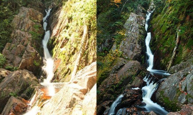 Waterfalls in Wisconsin Morgan Falls